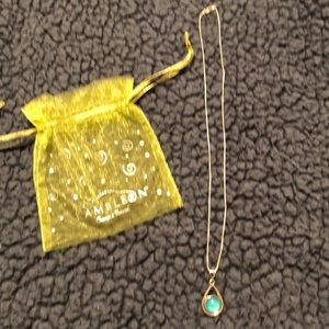 Kameleon necklace with turquoise Jewel Pop